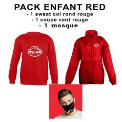 Pack enfant red